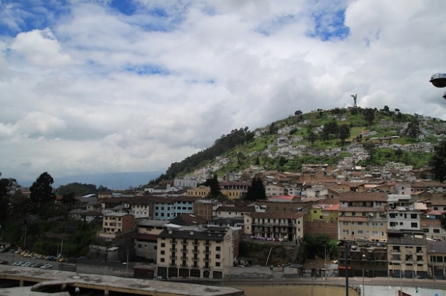 El Panecillo, the Virgin overlooking Quito