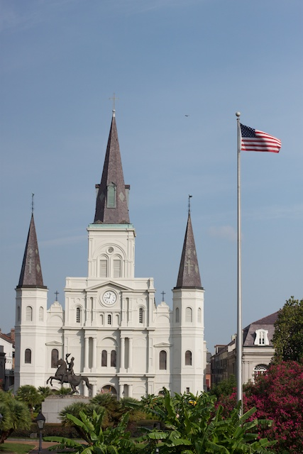 Pretty scenery in New Orleans